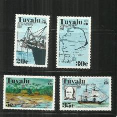 V 58 - VAPOARE - TUVALU - SERIE NESTAMPILATA - Timbre straine