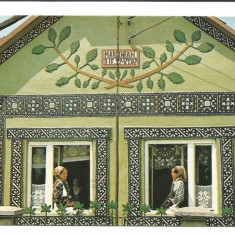 @carte postala(ilustrata)-SIEU-SFANTU -Bistrita Nasaud- Casa taraneasca - Carte Postala Transilvania dupa 1918, Necirculata, Fotografie