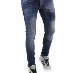 Blugi barbati tip Zara - blugi conici - cod 6298, Marime: 36, Culoare: Din imagine