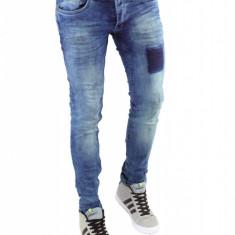 Blugi barbati tip Zara - blugi conici - cod 6297H5, Marime: 30, 32, 33, 34, Culoare: Din imagine