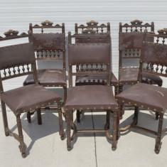 Set 6 scaune