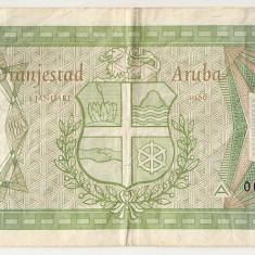 ARUBA 5 FLORIN 1986 VF - bancnota america