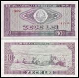 4. ROMANIA, 10 LEI 1966, UNC