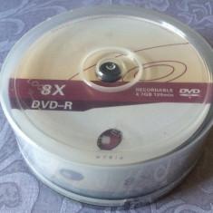 Set 25 PACK DVD - R marca Myria, 4, 7 GB, 8 x max speed / 120 min