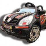 Masinuta b18 neagra + MP3 Player - Masinuta electrica copii