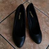 Pantofi dama - Pantof dama, Culoare: Negru, Marime: 38