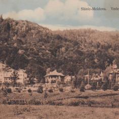 SLANIC MOLDOVA, VEDEREA VILELOR, CIRCULATA AUG.''910 - Carte Postala Moldova 1904-1918, Tip: Printata