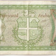 ARUBA 10 FLORIN 1986 VF - bancnota america