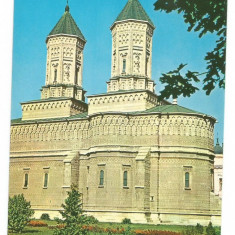 @carte postala(ilustrata)-IASI-Biserica Trei Ierarhi - Carte Postala Moldova dupa 1918, Necirculata, Fotografie