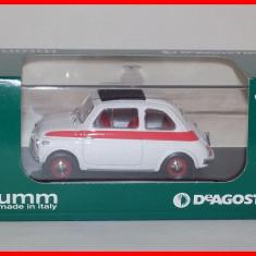 1959 - FIAT 500 SPORT (scara 1/43) BRUMM - DeAgostini IT - Macheta auto