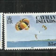 V 24 - VAPOARE - CAYMAN ISLANDS - SERIE NESTAMPILATA - Timbre straine