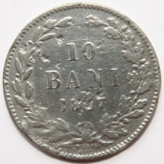 OKAZIE!!!  10 BANI 1867 . ARGINTAT., Cupru (arama)