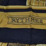 Esarfa vintage Hermes Rytmes din matase naturala
