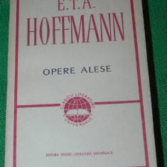 E T A Hoffmann - Opere alese - Mesterul Martin butnarul si calfele lui etc (6001 - Roman, Anul publicarii: 1966