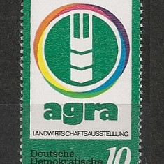 D.D.R.1979 Targul ptr. agricultura AGRA CD.1137 - Timbre straine, Nestampilat