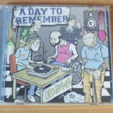 A Day To Remember - Old Record CD - Muzica Rock Altele