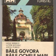 C6797 MIC INDREPTAR TURISTIC - BAILE GOVORA, BAILE OCNELE MARI DE VASILE BERBEC - Ghid de calatorie