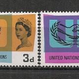 Anglia.1965 20 ani ONU SA.261 - Timbre straine, Nestampilat