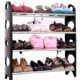 Raft pentru pantofi 4 suporturi Stackable Shoe Rack - Pantofar hol