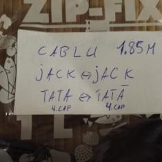 Cablu 4Jack 3, 5 Tata - 4Jack 3, 5 Tata 1, 85m - Cablu Camera Video