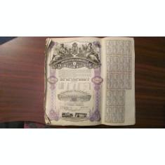 GE - 20 actiuni 10000 lei total Societatea Comunala a Tramvaielor Bucuresti 1945