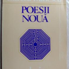 MIRCEA IVANESCU - POESII NOUA (VERSURI, ed princeps 1982/coperta MARIA REICHERT) - Carte poezie