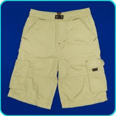 Pantaloni scurti din bumbac, frumosi, practici, INFINITY _ 7 - 8 ani | 122, Marime: Alta, Culoare: Bej, Baieti