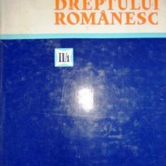 Istoria dreptului romanesc vol 2 partea 1 HANGA V - Carte Istoria dreptului