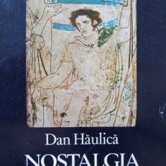 Nostalgia sintezei -Dan Haulica