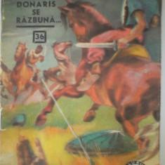Donaris se razbuna Corneliu Beda CLUBUL TEMERARILOR NR 36 - Carte de aventura