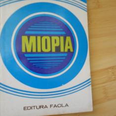 NICOLAE ZOLOG--MIOPIA - 1980 - Carte Oftalmologie