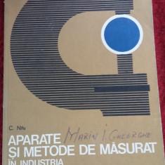 APARATE SI METODE DE MASURAT IN INDUSTRIA CONSTRUCTIILOR DE MASINI