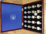 """Serie 21 monede 2 euro comemorative 2012 """"12 ani EURO"""" + Cutie LUX, UNC, Europa, Cupru-Nichel"""
