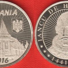 50 bani 2016 - Iancu de Hunedoara - UNC - Moneda Romania