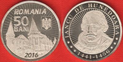 50 bani 2016 - Iancu de Hunedoara - UNC foto