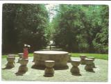 @carte postala(cod 121/78)-GORJ-TARGU JIU-Masa tacerii, Circulata, Printata