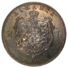 Romania - 2 Lei 1901 CITESTE DESCRIEREA ! Piesa de colectie ! - Moneda Romania