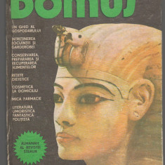 C6703 ALMANAHUL GOSPODINEI. DOMUS, 1983 - Revista femei