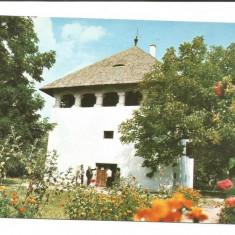 @carte postala(ilustrata)-GORJ-Cula Curtisoara - Carte Postala Oltenia dupa 1918, Circulata, Fotografie