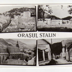 ORASUL STALIN MOZAIC - Carte Postala Transilvania dupa 1918, Circulata, Fotografie