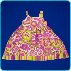 Rochie de vara, subtire, panza de bumbac, calitate C&A _ fete | 7 - 8 ani | 128, Marime: Alta, Culoare: Multicolor
