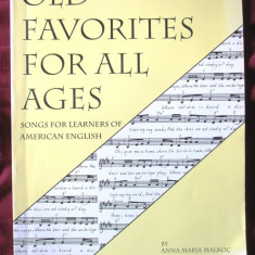 """OLD FAVORITES FOR ALL AGES. Songs for Learners of American English"", Alta editura"