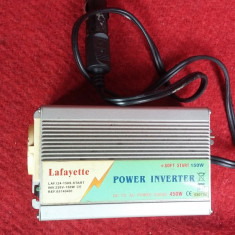 INVERTOR 12V-220V LA 450 W . NU FUNCTIONEAZA . - Invertor curent