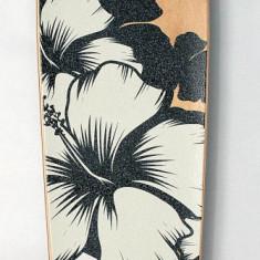 Longboard DROP SHAPE - Flower - nou - Skateboard inSPORTline, Copii