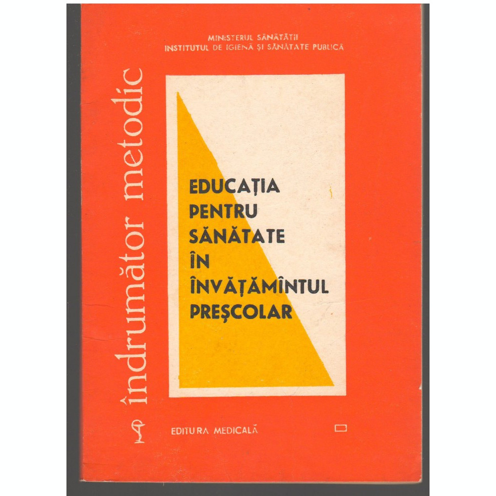 C6695 Educatia Pentru Sanatate In Invatamantul Prescolar