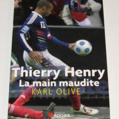 Carte fotbal - THIERRY HENRY (Juventus, Arsenal, Barcelona...in limba franceza)