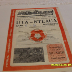 Program     UTA    -  Steaua