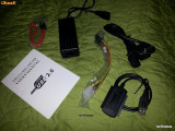 ADAPTOR USB 2.0 LA SATA IDE - Alimentator Inclus