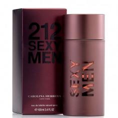 Parfum Carolina Hererra 212 Sexy Men 100 ML - Parfum barbatesc Carolina Herrera, Apa de toaleta