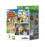 Animal Crossing Amiibo Festival & 2 Amiibos & 3 Amiibo Cards Nintendo Wii U